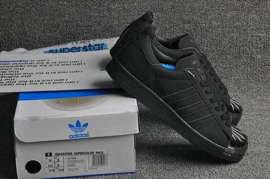 Adidas Superstar 80s Metal Toe Liquid Silver Black