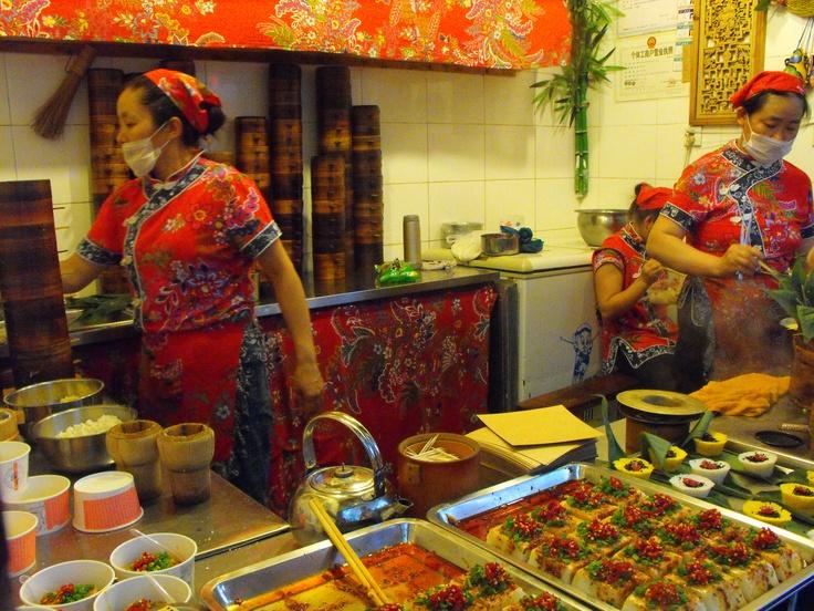street food, Chengdu, China www.jamierockers.com