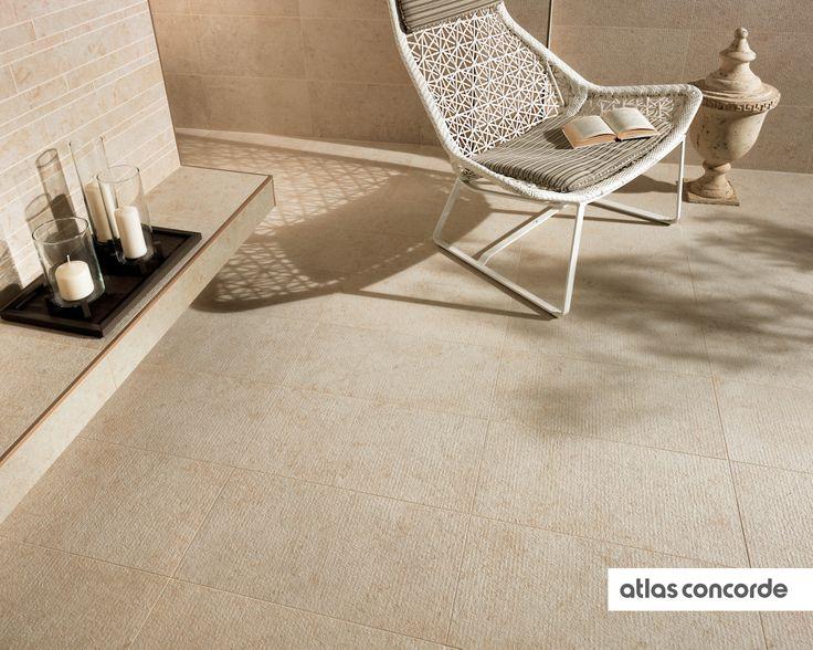 #SUNROCK jerusalem ivory | #Textured | #AtlasConcorde | #Tiles | #Ceramic | #PorcelainTiles