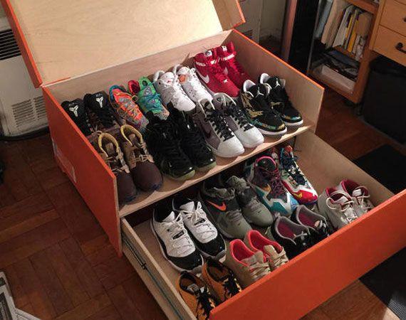 Custom Built Gigantic Nike Shoe Box For Sneaker Storage