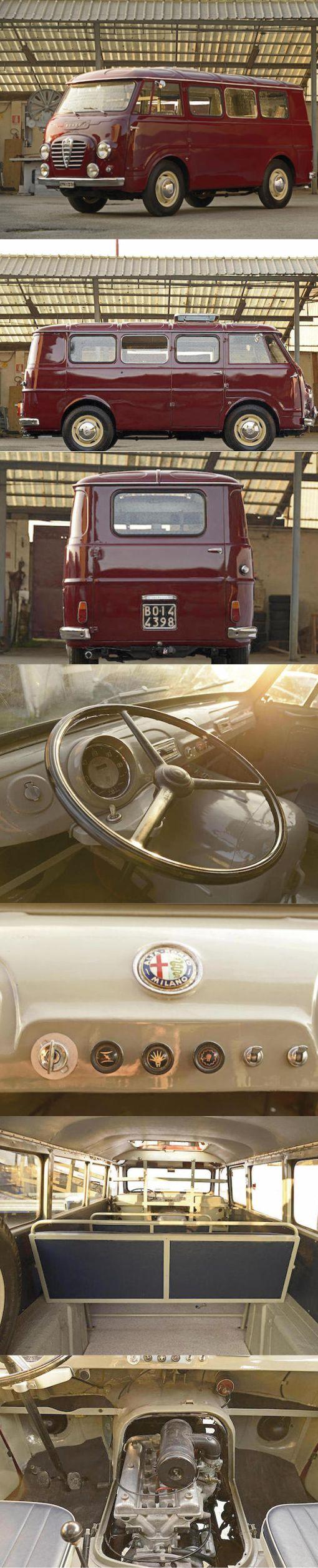 1954 Alfa Romeo T10 Autotutto / Italy / red