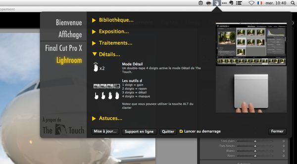 Utiliser Lightroom Francais