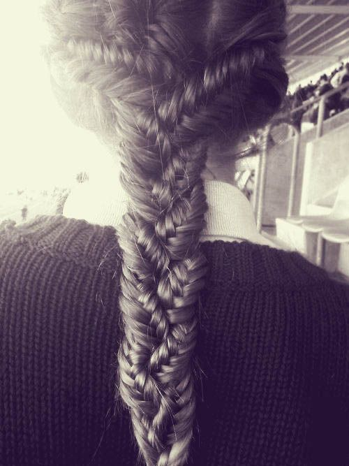 3 fishtail braids: French Braids, Hair Ideas, Fish Tail, Long Hair, Hairstyle, Fishtail Braids, Hair Style, Braids Braids, Braids Hair