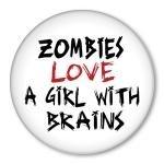 zombie button badgeButtons Pin, Handmade Accessories, Zombies Pinback, Buttons Badges, Pinback Buttons, Artfir Zombies, Zombies Buttons, Brain Pinback, Badges 15