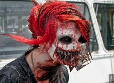 cosplay horreur deguisement halloween 29   Cosplay horreur   compilation spéciale Halloween   terreur photo peur image horreur halloween dég...