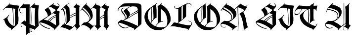 Gorgoeoth font http://www.myfonts.com/fonts/linotype/wilhelm-klingspor-gotisch/dfr/