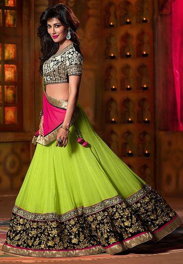 @ChitrangadaSing for @JabongIndia gorgeous in #Lehenga 2015