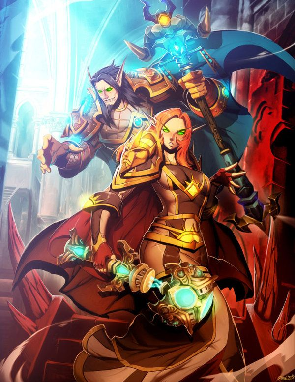 Warcraft 3 Anime Characters : Blood elf art warcraft handpicked ideas to discover