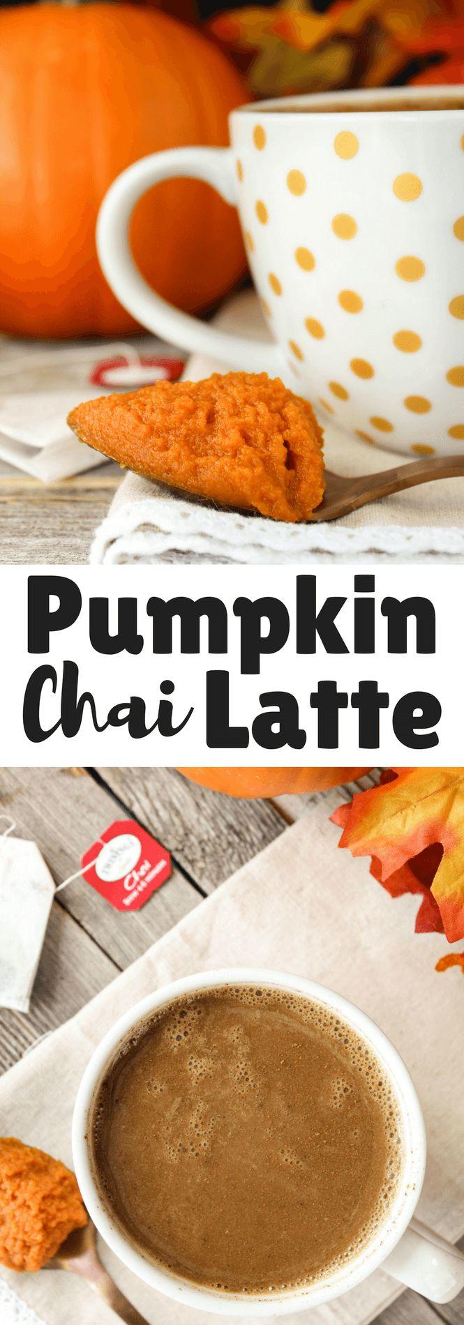 Pumpkin Chai Latte #pumpkin #fallrecipe