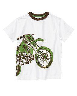 Dirt Bike Tee (Crazy 8 4-14y)