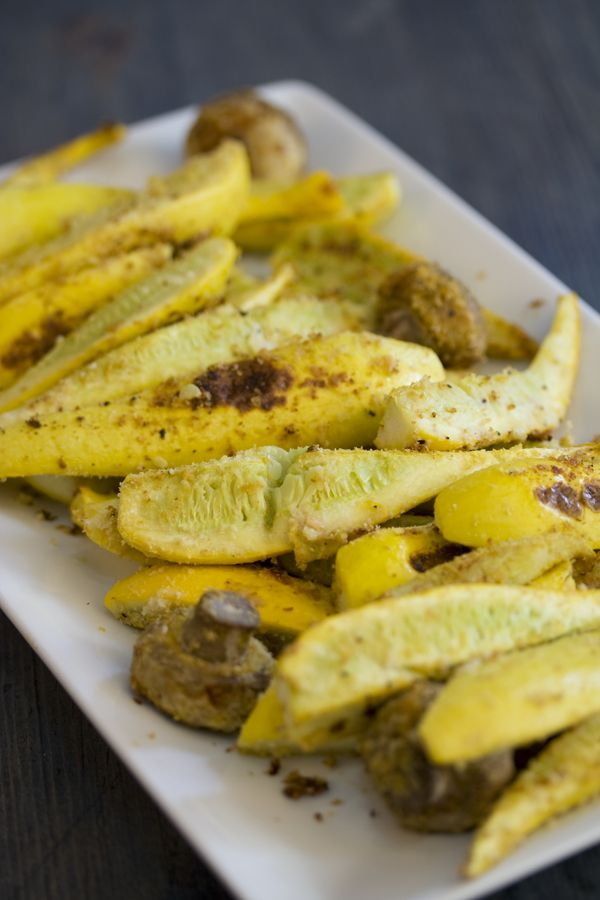 9 Tasty New Ways To Cook Yellow Squash - Baked Yellow Squash With Mushrooms