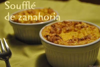 Cocina Varoma: Soufflé de zanahorias