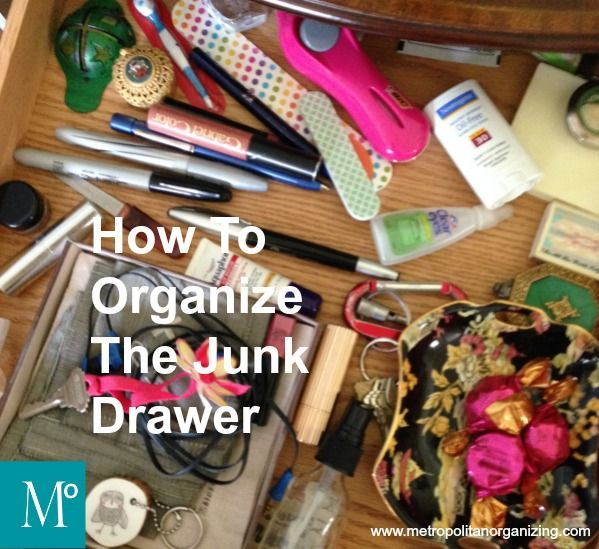 Organization Ideas For Junk Drawers: 1000+ Images About CLEANING Tips On Pinterest
