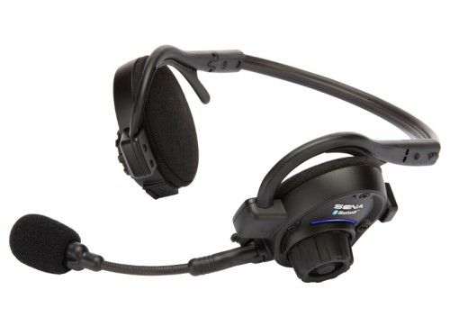 This is the new My Team Talks headset which can provide communication between 2-4 people with full duplex capability using the  built-in Bluetooth electrronics. No buttons to push, operation is totally hands free. $179.95 per headset. www.seadogboatingsolutions.com/my-team-talks-headset-system.html