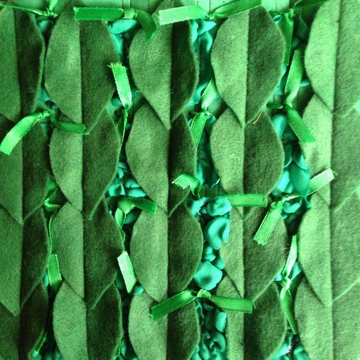 Manipulación textil - inspiración orgánica