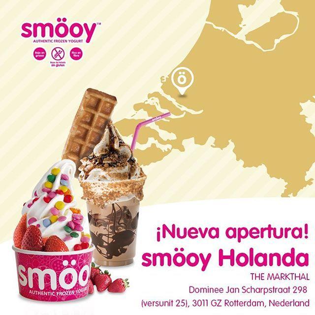📣¡Hoy tenemos una gran noticia que daros!📣  smöoy se instala en los Paises Bajos. Nada más y nada menos que en la segunda ciudad más importante de Holanda; Rotterdam. La ciudad donde el futuro ya ha llegado, y se posiciona a la vanguardia mundial en cuanto a innovación se refiere. ¿Te animas a visitar esta maravillosa ciudad mientras disfrutas de la experiencia smöoy y admiras sus edificios más extravagantes?    #smöoy #smöoyFranquicias #yogurhelado #yogur #tiendasmöoy #smöoytiendas