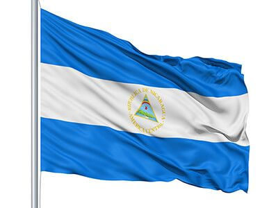 Nicaragua Flag colors - meaning & history of Nicaragua Flag