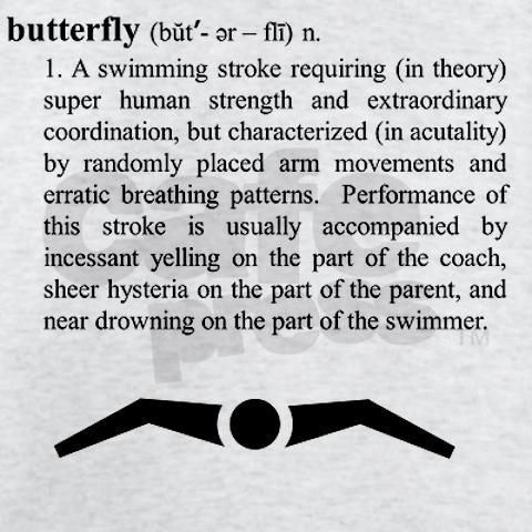 Even after 14+ years of competitive swimming i still feel like im drowning after a 50!