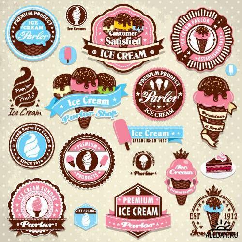 Vintage retro  labels and badges