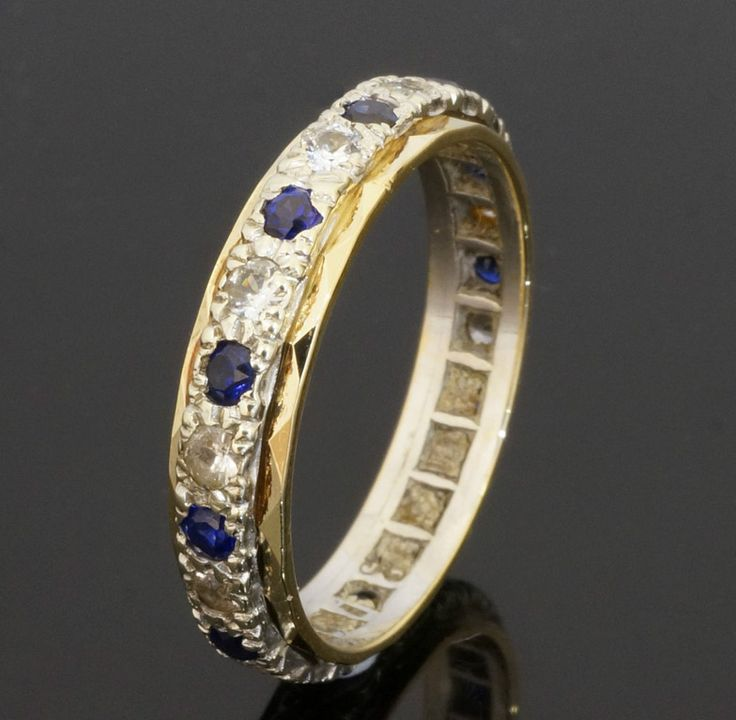 birthstone rings stackable september sapphire ring wedding il listing blue