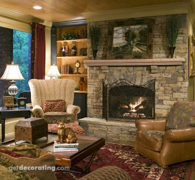41 best Lake house fireplace images on Pinterest
