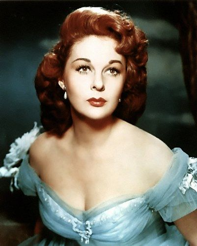 Susan Hayward - a real beauty.  I thought she was even more beautiful than Liz.