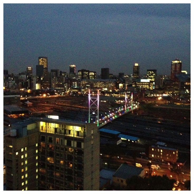 The view from Randlords, Braamfontein #Joburg