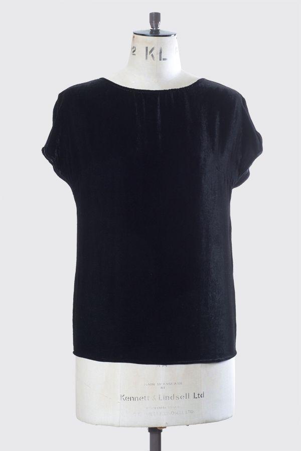 VELVET TEE Colour: Black www.beau.co.nz