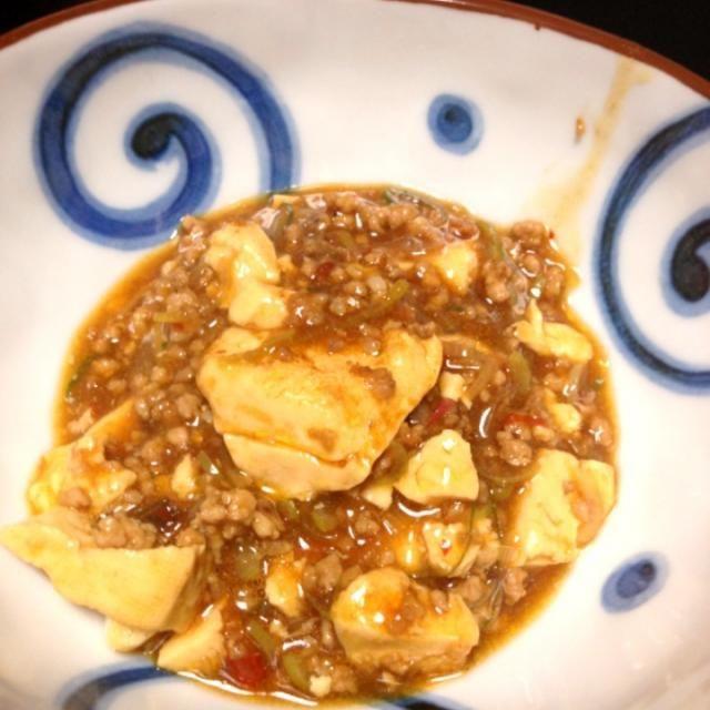陳 健一さん家の麻婆豆腐。 - 11件のもぐもぐ - 陳さんの麻婆豆腐 by kyuko