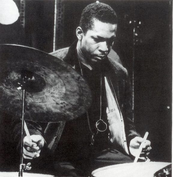 Rare Photo of John Coltrane playing drums very rarely seen although most musicians have more than one talent