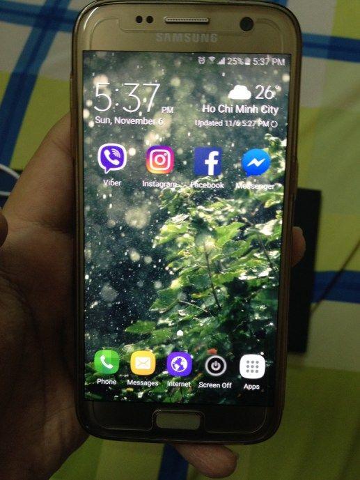 Bán Galaxy S7 Gold chính hãng 99%