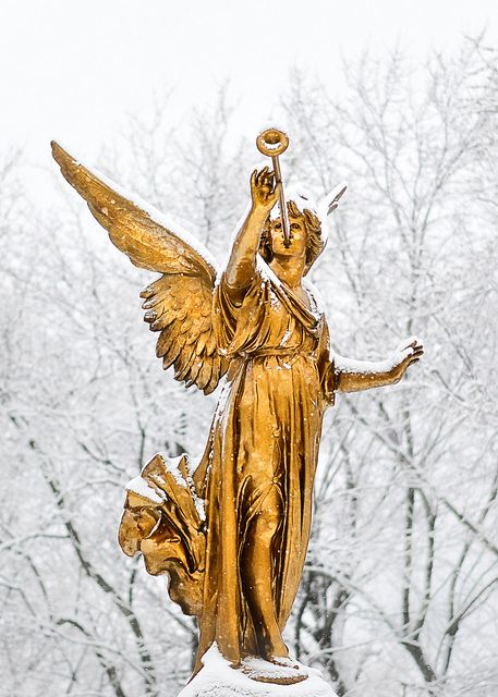 At Notre-Dame des Neiges cemetery, Montreal, QC, CA