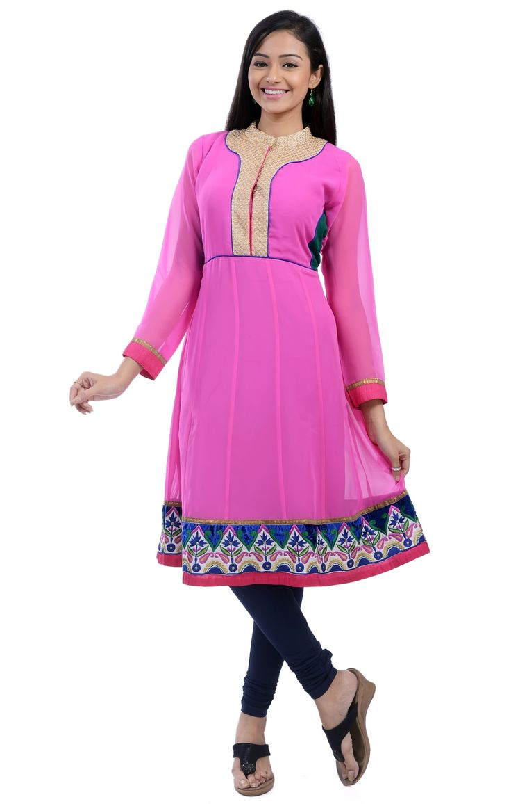 flat 10% Of on designer kurtis