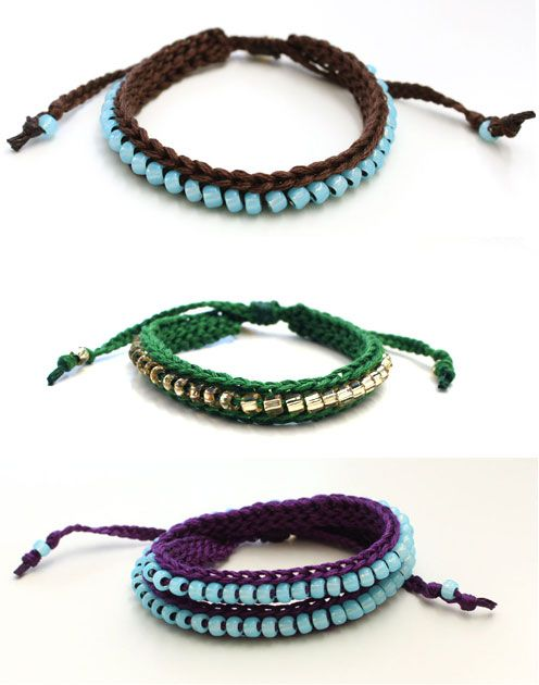 How to Make Beaded Crochet Bracelets | eHow.com