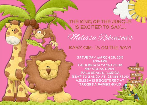 baby shower baby shower jungle girl baby showers themed baby showers