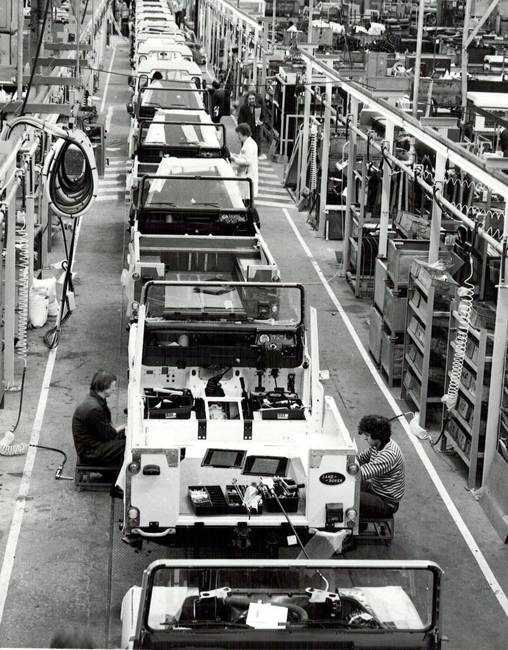 30 images show you the proudest and most special moments of iconic Land Rover.