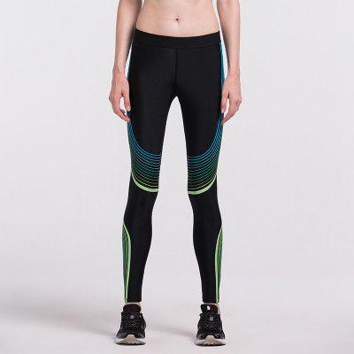 High Waist Stretched Sports Pants Gym