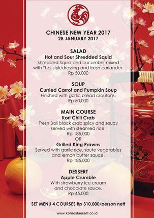 Celebrate Chinese New Year At Kori Restaurant, Bar & Catering #ChineseNewYear #KORIRestaurant #Bar #Catering #BaliPlusMagazine #BaliMagazine #BaliMedia #BaliPlus #Magazine #Bali