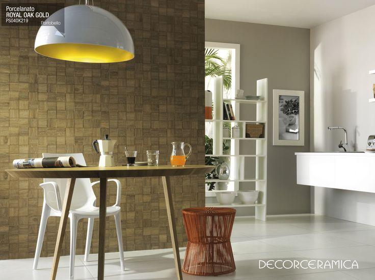PRONTO EN DECORCERAMICA Porcelanato ROYAL OAK GOLD 20*120 OAK, de PORTOBELLO. Llevamos nuestro Mundo de Innovación a tus espacios con el porcelanato Royal oak gold, diseñado con Impresión Digital... Leer más. http://bit.ly/1e7BYXV