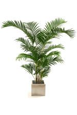 """View large Artificial 4ft 6"""" Areca Palm Tree - Artificial Silk Plant and Tree Range UK"""