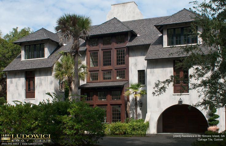 Private Residence In Ashville NC (roof Tiles By Ludowici) #roof #turret  #tiles .ClayRoofs.com | Turrets U0026 Tiles | Pinterest | Roof Tiles  Galleries And . ...