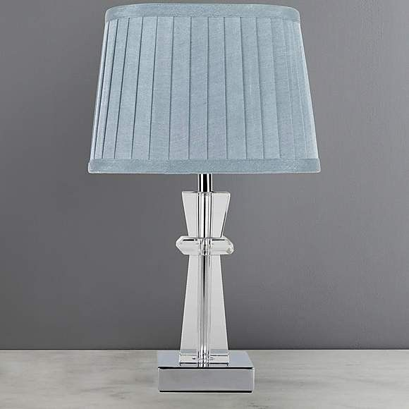 Pyramid Crystal Table Lamp Dunelm Crystal Table Lamps Table