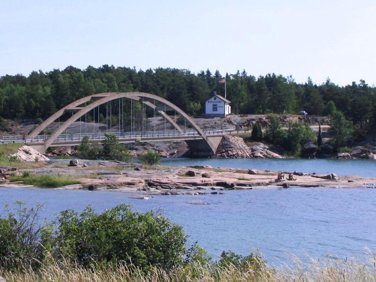 Bomarsund Bridge Sund Finland 1024x768   Travel Finland