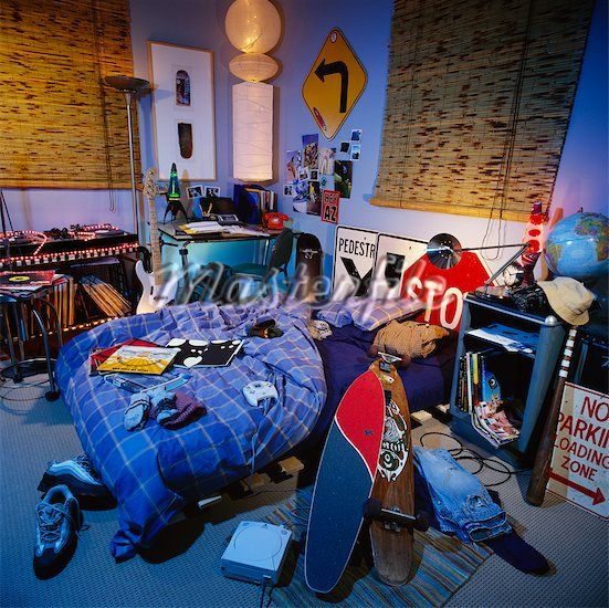 Messy Bedroom: 30 Best AI: Milo's Bedroom Images On Pinterest