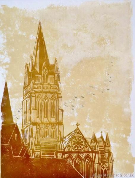 2126 Best Printmaking Relief Colour Images On Pinterest