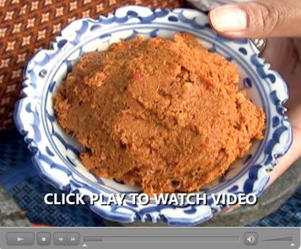 How Thai Curry Paste is Made