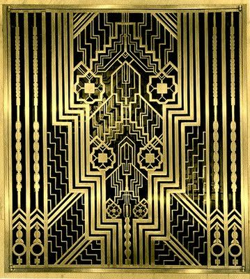 Art Deco Design Elements | ... +Bronze+Grill+-+Art+Deco+-+Elements+of+Design+-+Peter+Crawford.jpg