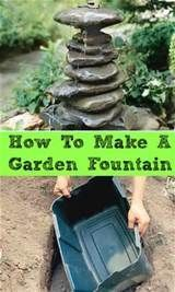 homemade water fountain ideas - Yahoo Image Search Results