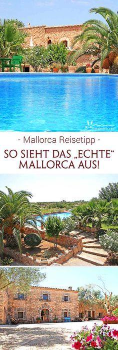Jenseits der quirligen Touristenorte beginnt das wahre Mallorca. Beschaulichkeit und Ruhe prägen das Bild und knorrige Olivenbäume, üppige Palmen und gemütliche Bauernhäuser mit urigen Natursteinwänden. Diese beherbergen heute romantische Landhotels, wie das Hotel Finca Son Guardiola auf Mallorca. In gemütlichen Appartements findet die ganze Familie Platz - der ruhige Garten lädt zum Entspannen ein und ein erfrischender Pool sorgt für Badespaß bei der ganzen Familie. Urlaub auf Mallorca...