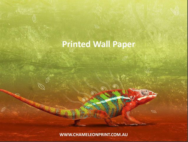 Our large specialised #printers can #print your #designs on different types of high-quality Printed #WallPaper whether plain or textured.